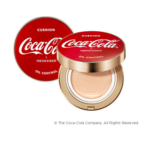 [The Face Shop] Coca Cola Oil Contro lWater Cucshion 15g