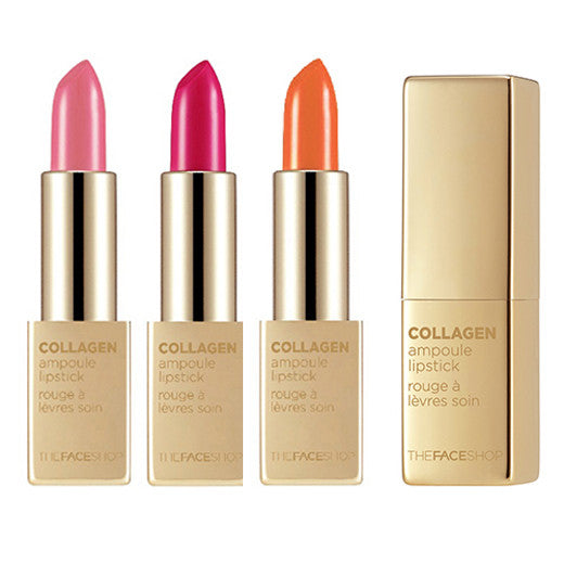 [The Face Shop] Collagen Ampoule Lipstick 3.5g - Cosmetic Love