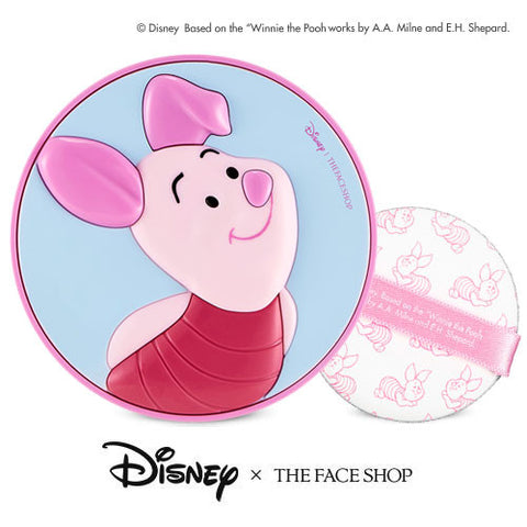 [The Face Shop] Disney CC Cooling Cushion SPF42 PA+++ (Piglet) 15g - Cosmetic Love