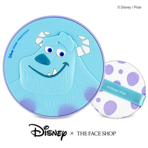 [The Face Shop] Disney CC Long Lasting Cushion SPF50+ PA+++ (Sulley) 15g