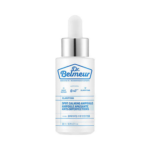 [The Face Shop] Dr.Belmeur Clarifying Spot Calming Ampoule 22ml - Cosmetic Love
