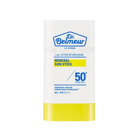 [The Face Shop] Dr.Belmeur Derma Mineral Sunstick SPF50+ PA+++ 20g