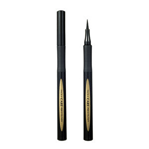 [The Face Shop] Face It Care Pen Eye Liner # 1 Real Black - Cosmetic Love