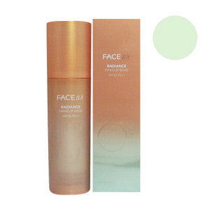 [The Face Shop] Face & It Radiance Make Up Base SPF20, PA++ (Green) - Cosmetic Love