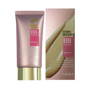 [The Face Shop] Fact It Shimmering BB Cream SPF20, PA+ - Cosmetic Love