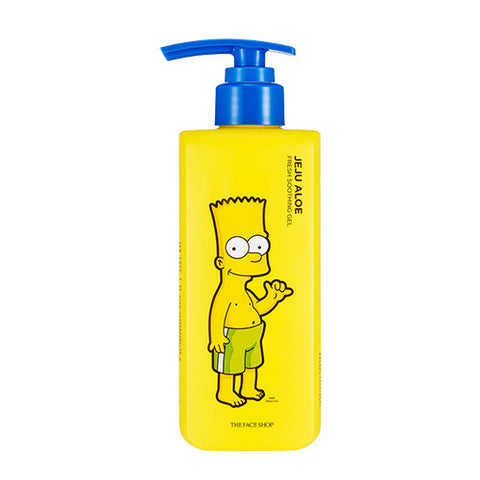 [The Face Shop] Fresh Jeju Aloe Soothing Gel (The Simpsons Edition) 300ml