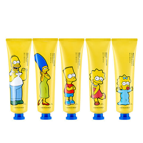 [The Face Shop] Hand Cream (The Simpsons Edition) 30ml - Cosmetic Love