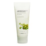 [The Face Shop] Herb Day 365 Cleansing Foam- # Spearmint - Cosmetic Love - 4