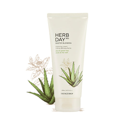 [The Face Shop] Herb Day 365 Master Blending Cleansing Cream 170ml