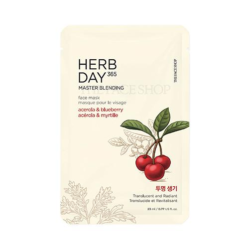 [The Face Shop] Herb Day 365 Master Blending Mask 23ml
