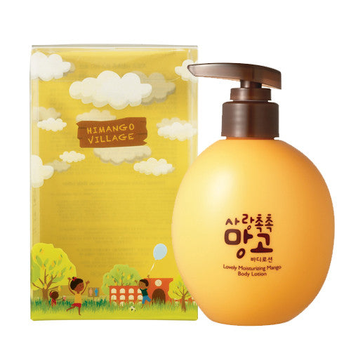 [The Face Shop] Himango Lovely Moisturizing Mango Body Lotion - Cosmetic Love