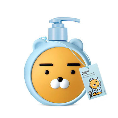 [The Face Shop] Hoodie Ryan Milk & Shea Butter Body Oil Lotion  (Kakao Friends) 500ml