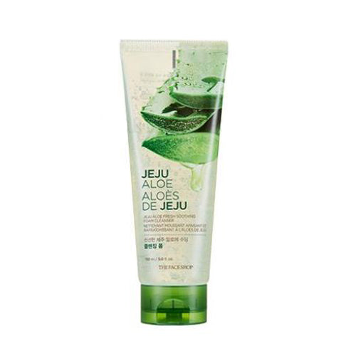 [The Face Shop] Jeju Aloe Fresh Soothing Foam Cleansing 150ml