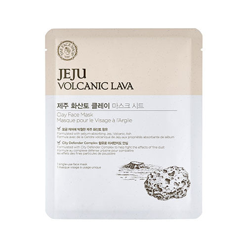 [The Face Shop] Jeju Volcanic Lava Clay Face mask - Cosmetic Love