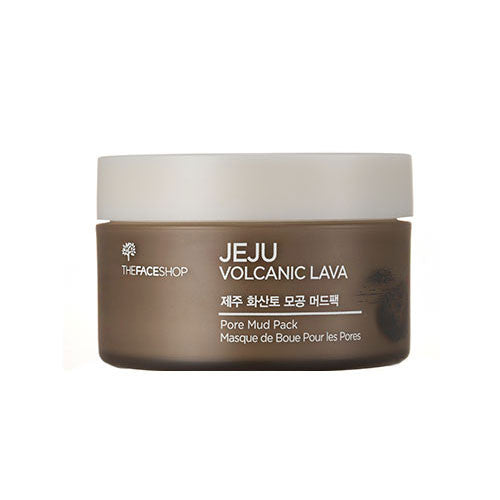 [The Face Shop] Jeju Volcanic Lava Pore Mud Pack 100ml - Cosmetic Love