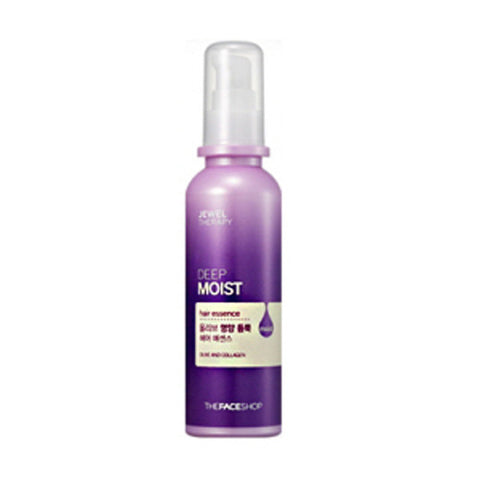 [The Face Shop] Jewel Therapy Deep Moist Olive Hair Essence 120ml - Cosmetic Love