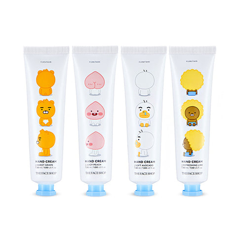 [The Face Shop] Little Friends Hand Cream (Kakao Friends) 30ml