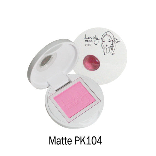 [The Face Shop] Lovely Meex Eyes Matte 2 Colors - Cosmetic Love