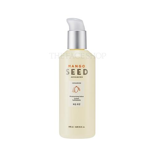 [The Face Shop] Mango Seed Moisturizing Lotion 145ml