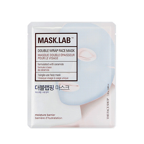 [The Face Shop] Mask.LAB Doublewrap Face Mask 25g - Cosmetic Love