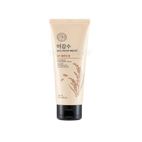 [The Face Shop] NEW Rice Water Bright Rice Bran Cleansing Foam 150ml