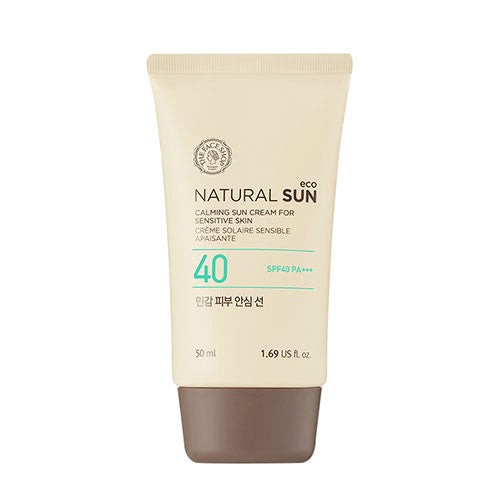 [The Face Shop] Natural Sun Eco Calming Sensitive Sun SPF 40 - Cosmetic Love