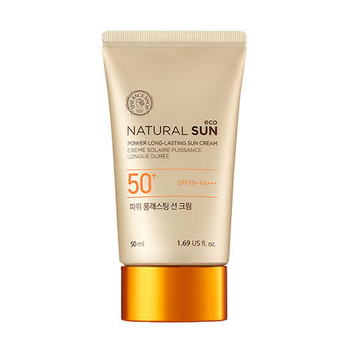 [The Face Shop] Natural Sun Eco Powder Long Lasting Sun SPF50+ PA+++ - Cosmetic Love