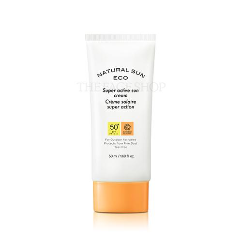 [The Face Shop] Natural Sun Eco Super Active Sun Cream 2020 50ml