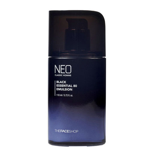 [The Face Shop] Neo Classic Homme Black Essential80 Emlusion 110ml - Cosmetic Love