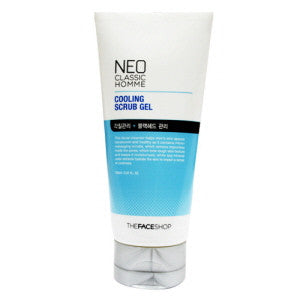 [The Face Shop] Neo Classic Homme Cooling Scrub Gel - Cosmetic Love