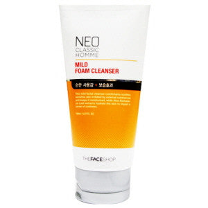 [The Face Shop] Neo Classic Homme Foam Cleanser - Cosmetic Love