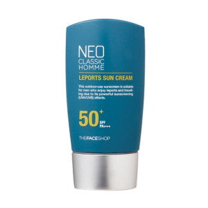[The Face Shop] Neo Classic Homme Leports Sun Cream SPF50+ PA+++ - Cosmetic Love