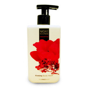 [The Face Shop] Night Flower Firming Body Wash - Cosmetic Love