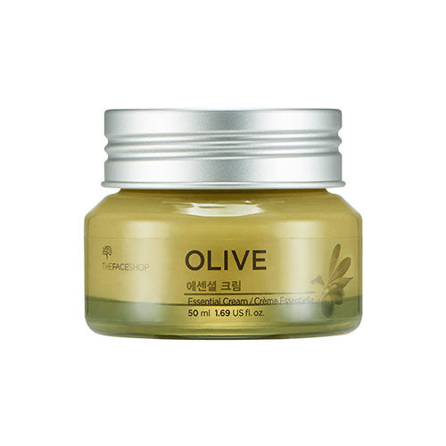 [The Face Shop] Olive Essential Cream 50ml - Cosmetic Love