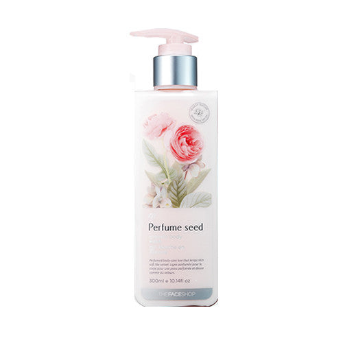 [The Face Shop] Perfume Seed Velvet Body Milk 300ml - Cosmetic Love