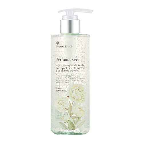 [The Face Shop] Perfume Seed White Peony Body Wash 300ml - Cosmetic Love