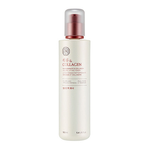 [The Face Shop] Pomegranate And Collagen Volume Lifting Toner - Cosmetic Love