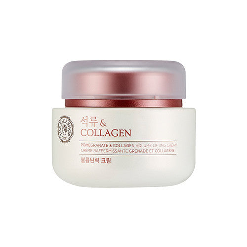 [The Face Shop] Pomegranate & Collagen Volume Lifting Cream - Cosmetic Love