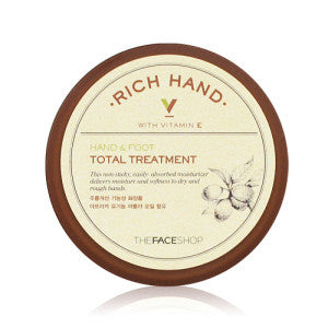[The Face Shop] Rich Hand V Hand & Foot Total Treatment - Cosmetic Love