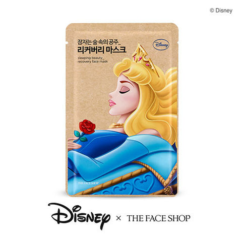 [The Face Shop] Sleeping Beayty_Recovery Face Mask 25g (Disney Princess Edition)