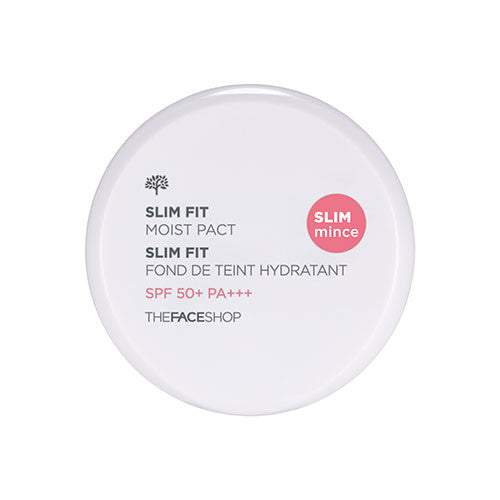 [The Face Shop] Slim Fit Moist Pact SPF50 PA+++ 11g - Cosmetic Love