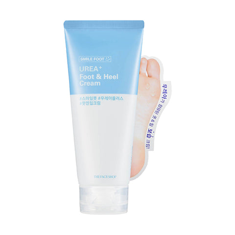 [The Face Shop] Smile Foot UREA+ Food & Heel Cream 130ml