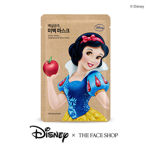 [The Face Shop] Snow White_Brightening Face Mask 25g (Disney Princess Edition)