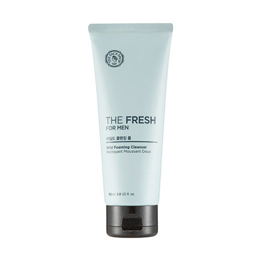 [The Face Shop] The Fresh For Men Mild Foaming Cleanser 150ml - Cosmetic Love