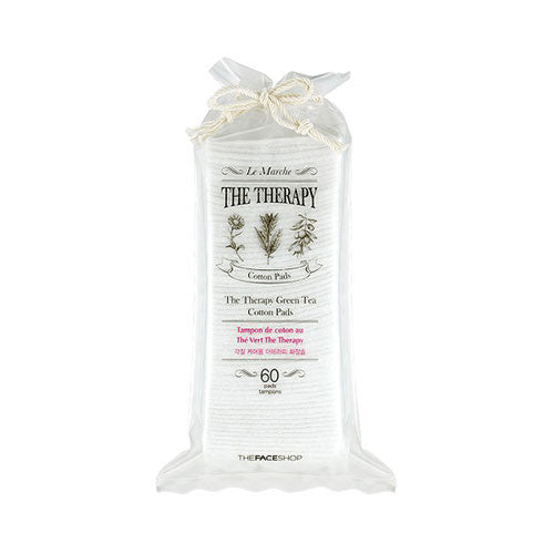 [The Face Shop] The Therapy Cotton Pad 60 Sheets