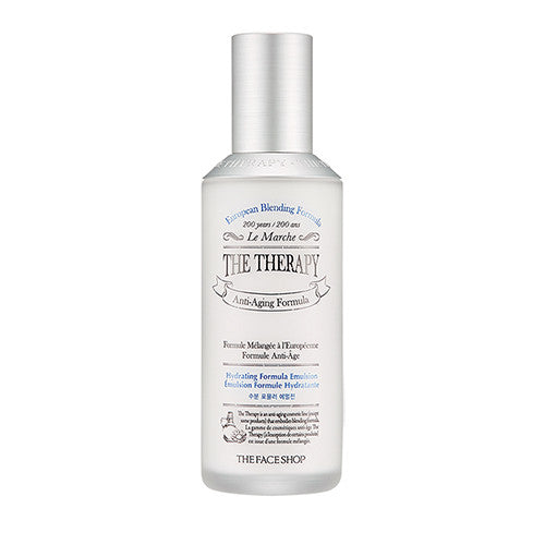 [The Face Shop] The Therapy Hydrating Formula Emulsion 130ml - Cosmetic Love