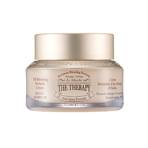 [The Face Shop] The Therapy Oil Blending Formula Cream 50ml - Cosmetic Love