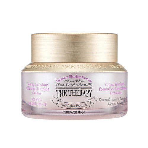 [The Face Shop] The Therapy Royal Made Moisture Blending Tone Up Cream 50ml - Cosmetic Love