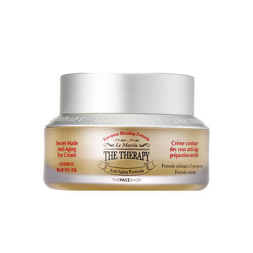 [The Face Shop] The Therapy Secret Made Anti-aging Eye Cream 32ml - Cosmetic Love