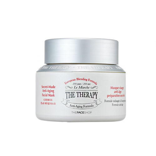 [The Face Shop] The Therapy Secret Made Anti-aging Facial Mask 120ml - Cosmetic Love